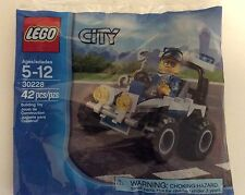 LEGO 30228 City POLICE RESCUE Mini-figure with ATV ~ NEW in SEALED POLYBAG