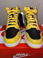 Nike Dunk High Varsity Maize Size 9 *In Hand CZ8149-002 Yellow WuTang