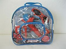 Shakespeare Youth Spiderman Backpack Telescopic Spincast Combo fishing Kit - New