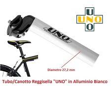 Tubo/Canotto ReggiSella UNO Alluminio Bianco 27,2 per bici 20-24-26 Pieghevole