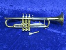 Getzen Capri Trumpet 1970's Serial #A23104 with 1st Valve Trigger and Plays Well