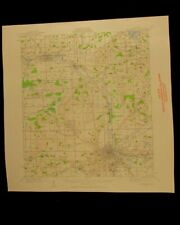Kalamazoo Michigan vintage 1960 original USGS Topographical chart