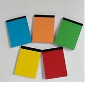 A6  NOTEBOOKS X 30 PAPER PLAIN WHITE MINI JOTTER/ NOTEPADS// IDEAL FOR PARTIES