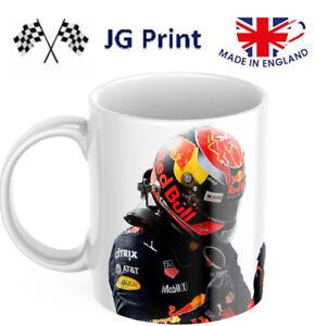Max Verstappen inspired formula one F1 mug design - logo