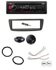Peugeot 107 05-14 Kenwood CD player AUX USB and Pioneer speaker upgrade