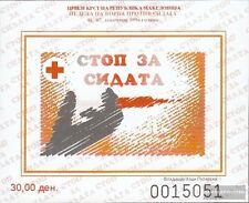 Macedonia Z block22b Zwangszuschlagsmarken mint never hinged mnh 1996 Red Cross