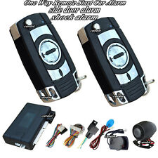 atuo car alarm security system with long distance remote start and shock alarm