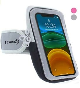 Sports Armband: Cell Phone Holder Case Arm Band Strap With Zipper Pouch / Mobile