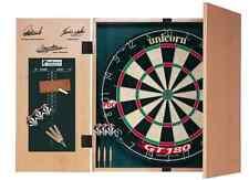 NUOVO Set di freccette UNICORN ORIGINALE dartboards GABINETTO E FRECCETTE DART BOARD Kids