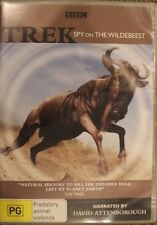 BBC - TREK: SPY ON THE WILDEBEEST DELETED DVD PAL 4 CULT MOVIE RARE DOCUMENTARY