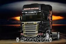 Scania Truck GriffinTruck sun visor sticker/decal for cab lightbox exterior fit