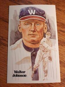 WALTER JOHNSON  Perez Steele Hall Of Fame Postcard - 01398/10,000- NMMT