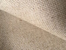 Natural Oatmeal 18 count Zweigart Floba Linen mix evenweave fabric 50 x 70 cm