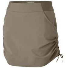 NWT Columbia Womens Anytime Casual Skort Loose Shorts Tusk sz 3X