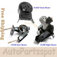 Engine Motor Trans Mount Set 3 for00-05 Toyota Echo 1.5L Scion xA xB Manual G019
