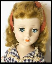 Ao 21� 1950's Sweet Sue Hard Plastic He'd Turning Walker Doll