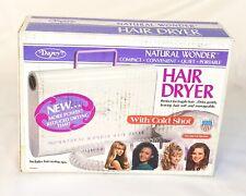 Vintage Dazey Natural Wonder Soft Bonnet Hair Dryer -With Cold Shot *FREE SHIP!*