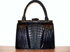 Hornback Krokotasche, IRV, viele Fächer! Krokodilleder Tasche, Croc Leather Bag