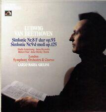 Beethoven Sinfonie Nr.8 & 9 / Giulini & London Symphony Orchestra 2 LP Box Set