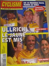 CYCLISME INTERNATIONAL: N°140HS: JUILLET 1997: SPECIAL MI-TOUR DE FRANCE - ULLRI