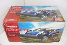 NIB Radio Shack MACHETE Futuristic Racer RC Car Radio Controlled 2002 NEW In Box