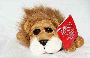 Brand new Russ Berrie plush Peeper Carnie Lion 15cm Luv Pets animal Soft
