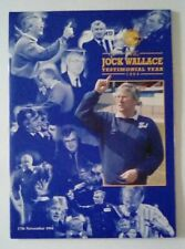 More details for jock wallace testimonial year 1994 souvenir leicester city