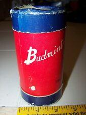 VTG 1950's BADMINTON FEATHER SHUTTLE COCK SUNBATTA JAPAN w/ TUBE