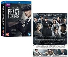 PEAKY BLINDERS 1-4 2013-2017: COMPLETE Gangster TV Season Series - Reg B BLU-RAY