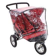 Universal nipper double 360 stroller rain cover side by side pvc neuf 3 wheeler