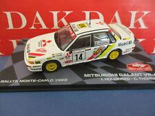 Die cast 1/43 Modellino Auto Mitsubishi Galant VR-4 Rally Monte Carlo 1993