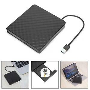 USB 3.0 External CD DVD RW Drive Writer Burner Reader For Dell HP Toshiba Laptop