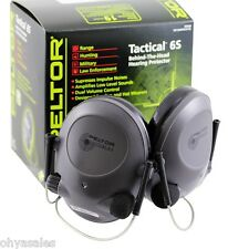 3M Peltor Tactical 6 Behind the Head Earmuff Hearing Protection - 97043