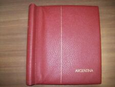 LIGHTHOUSE Stamp Album for Argentina 1966-1975, HINGELESS, NEW OLD STOCK