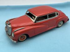 # JNF Luxus Mercedes Adenauer Farbe Rot  50er   (65835) Blechspielzeug