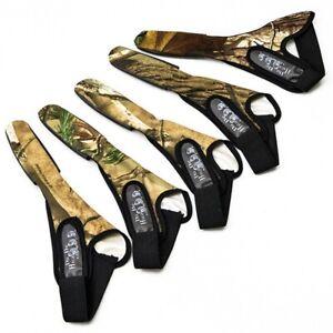 Fishing Braid Line Camo Sea Surf Casting Glove Finger Stall Protector 2Pcs
