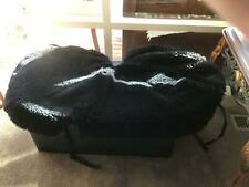 Wool seat covers black