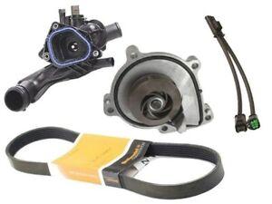 Mini 2010-2012 Saleri Water Pump +belt +thermostat +adapter Lead R55 R56 R57 R58