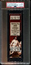 PSA Ticket Baseball Cincinnati Reds 2000 Colorado Ken Griffey Jr. 400th HR Full