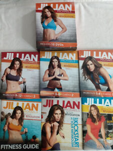Jillian Michaels Body Revolution Extreme 90-Day Weight Loss System 15 DVDs Books