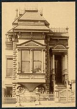 1890s SAN FRANCISCO VICTORIAN HOME CITY COTTAGE at 321 PIERCE~NEW 1974 POSTCARD