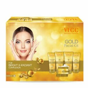 VLCC Gold for Bright & Radiant complexion Facial Kit 250 gm