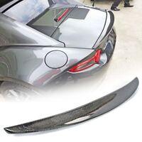 Carbon Fiber Mazda MX5 MX-5 Miata ND Convertible Performace Trunk Spoiler GT GX