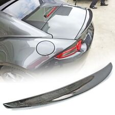 Carbon Fiber Mazda MX5 MX-5 Miata ND Convertible Performace Trunk Spoiler GT GX
