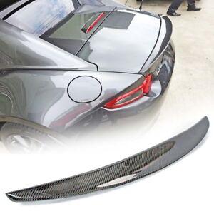 2016-2020 Fit FOR Mazda MX5 Miata Trunk Spoiler GT P Type MX-5 Carbon Fiber