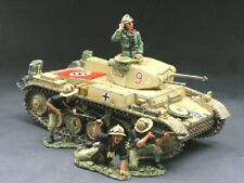 King and Country Retired Afrika Korps AK030, Panzer II Tank Set