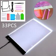 UK SELLER A4 LED Light Pad - 60 Pcs 5d Diamond Accessories Painting Kit