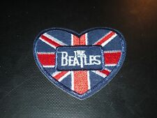 "The Beatles ""Heart"" 2 1/2 Inch Iron On Patch Nice !"