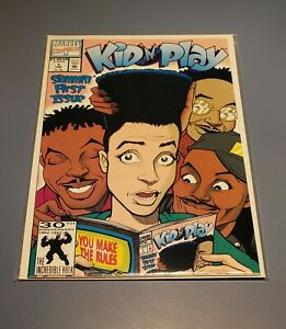 Kid'N Play First Issue Vol. 1 No.1 Marvel Comic Book 1991 *HIGH GRADE*