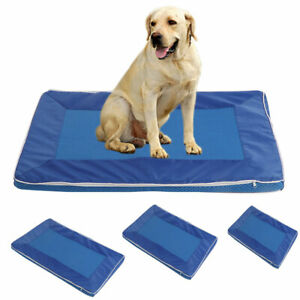 Breathable Dog Cat Summer Cooling Bed Mat Soft Washable Carpet Pet Supplies